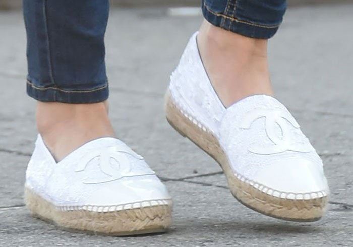 Lucy-Hale-Chanel-Espadrille-Loafers