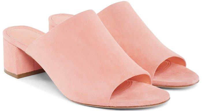 Mansur Gavriel Mules Pink 1