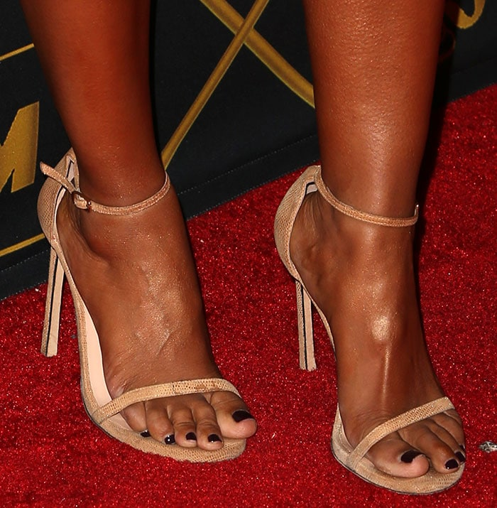 Mel-B-Stuart-Weitzman-Nudist-Sandals