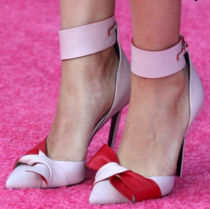 Mila Kunis Bad Moms LA Premiere shoes