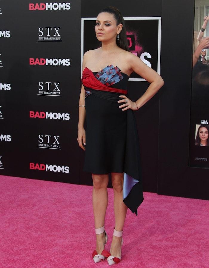 Mila Kunis Bad Moms LA Premiere1