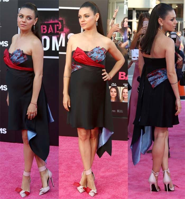 Mila Kunis Bad Moms LA Premiere5