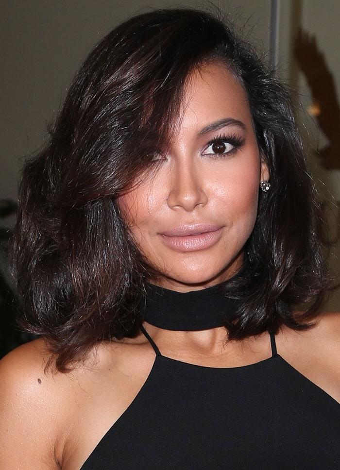Naya-Rivera-hair-neutral-makeup