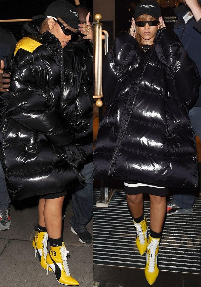 Rihanna Harrods Fenty Puma 2