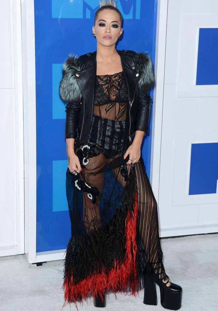 Rita Ora 2016 MTV VMAs Marc Jacobs 2