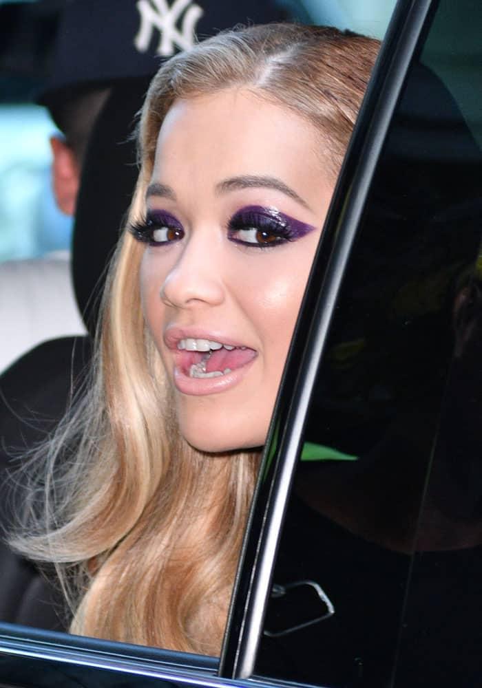 Rita Ora TriBeCa Hotel DSquared2 1
