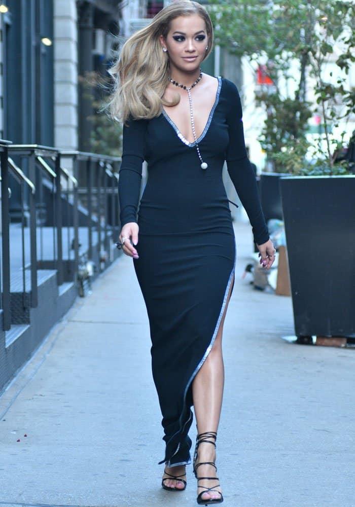 Rita Ora TriBeCa Hotel DSquared2 2