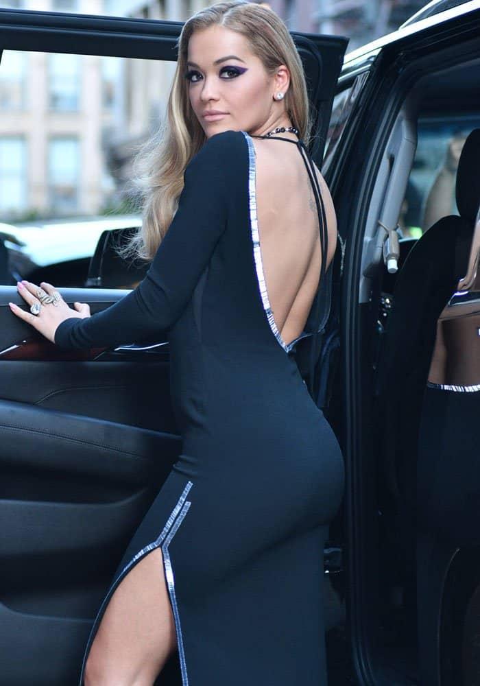 Rita Ora TriBeCa Hotel DSquared2 4