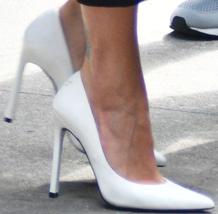 Rita Ora TriBeCa Stuart Weitzman 2