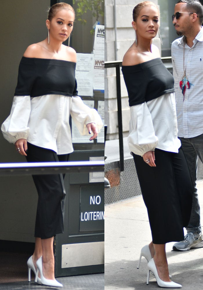Rita Ora TriBeCa Stuart Weitzman 3