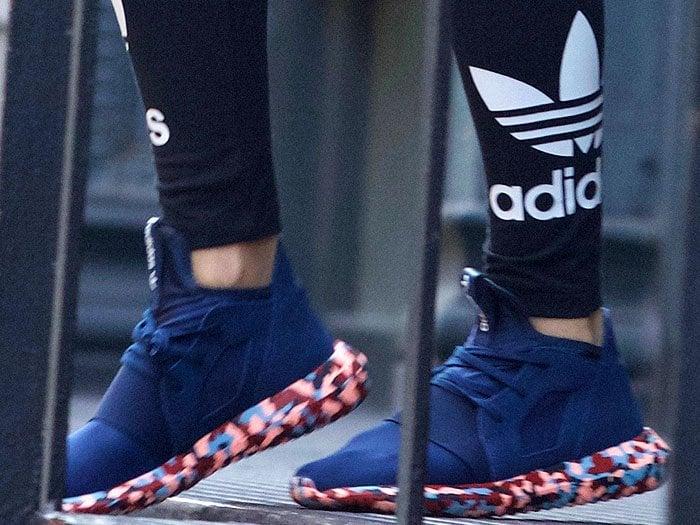 Rita Ora adidas Color Paint Pack Tubular Defiant sneakers 3