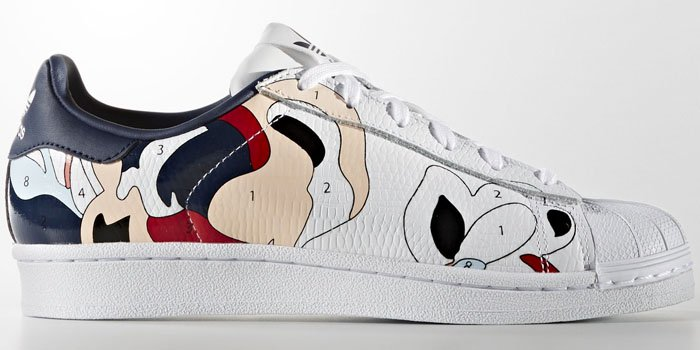 Rita Ora adidas Superstar sneakers