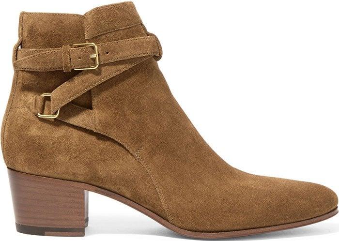 Saint-Laurent-Blake-suede-ankle-boots