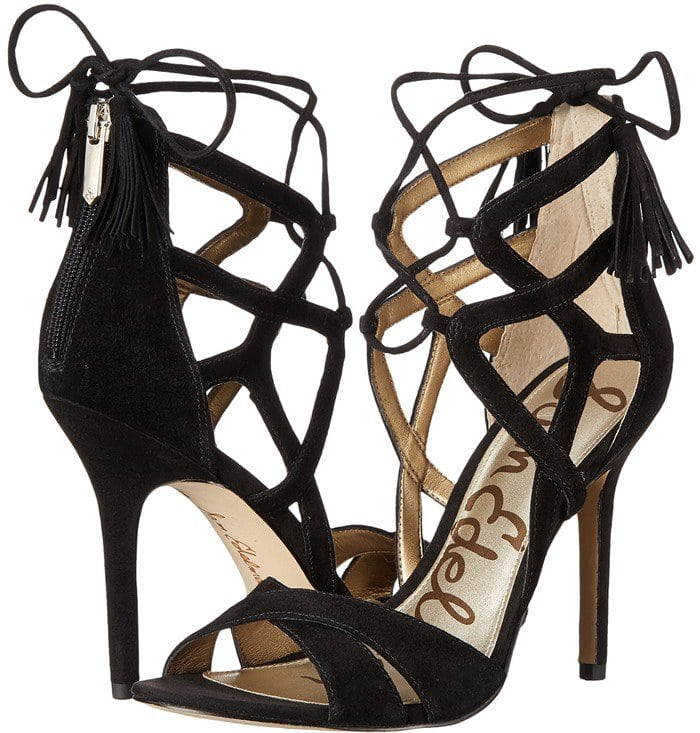 a6e2920269f0 Stop Your Admirers in Their Tracks with Sam Edelman s  Azela  Sandals