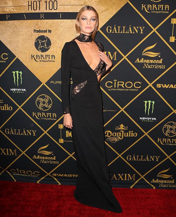 Stella-Maxwell-hosts-Maxim-Hot-100-Party