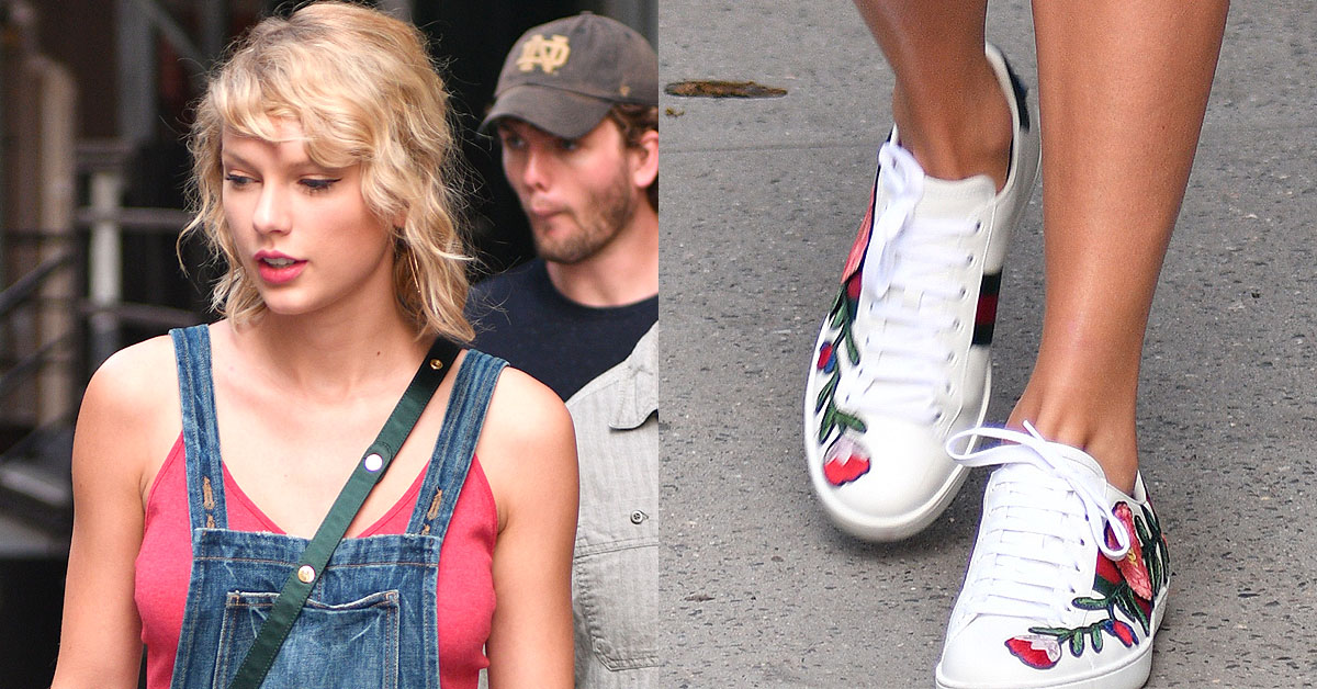Taylor Swift Goes Country in Gucci 'New