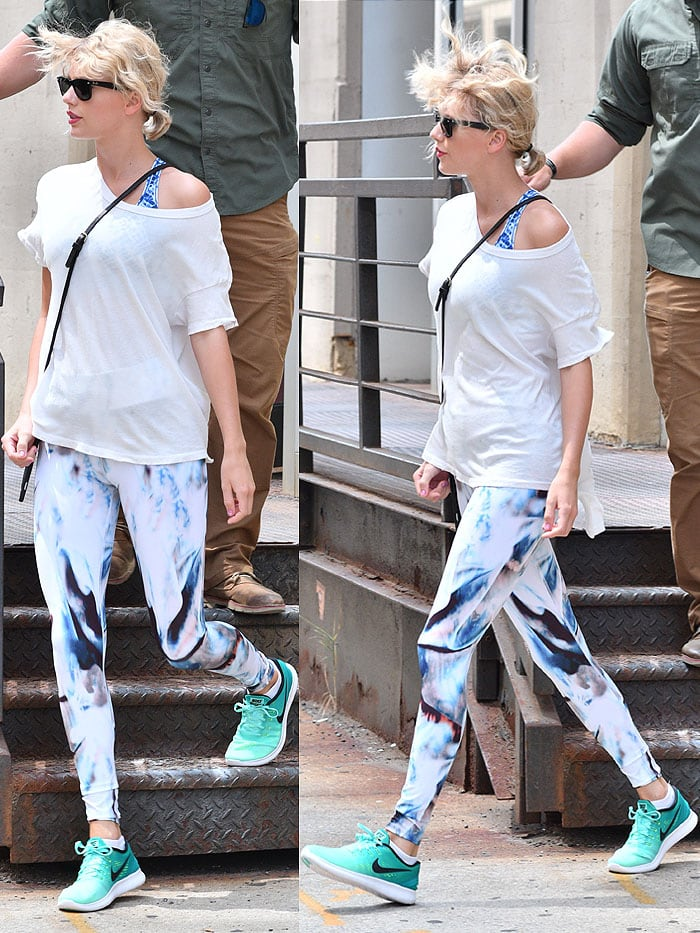Taylor Swift Nike Free Rn running shoes 1