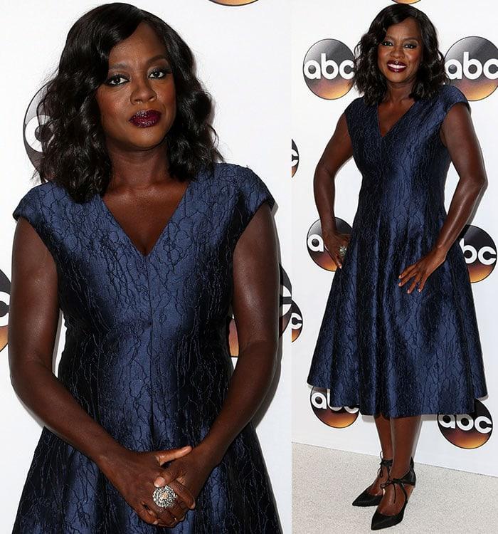 Viola-Davis-blue-dress-ABC-TCA-summer-tour-party