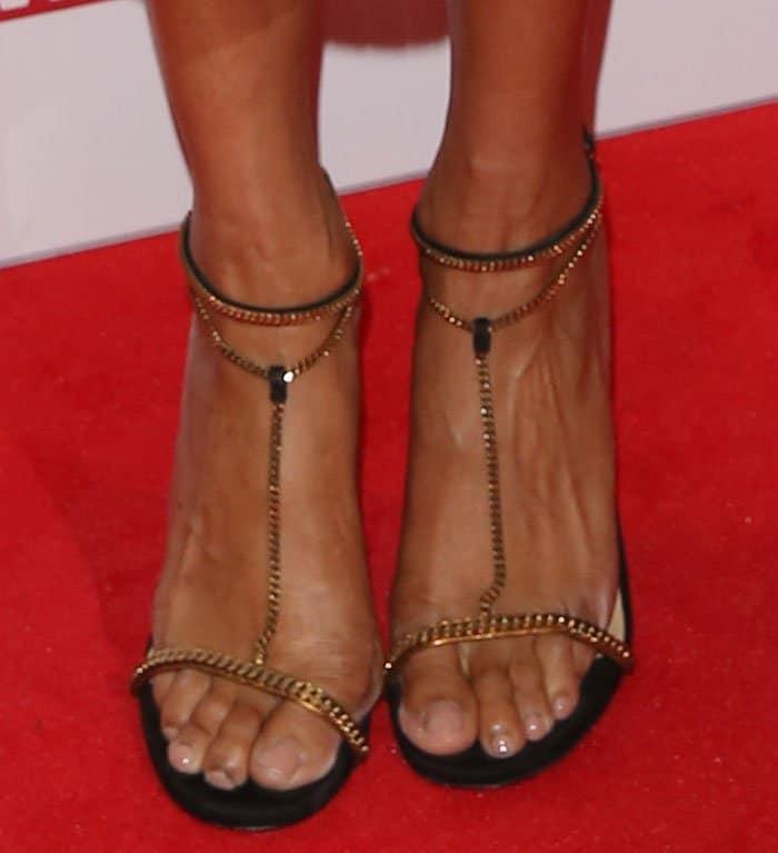 Alesha Dixon'sGucci Ophelie sandals