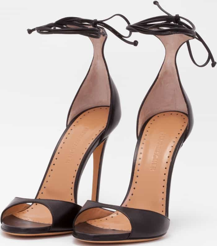 accessories, Adriana Online, adrianaonline.com, Alexa Wagner, ashiepattle, black sandals, Clothing, luxury, Shoes, woman, Shoes