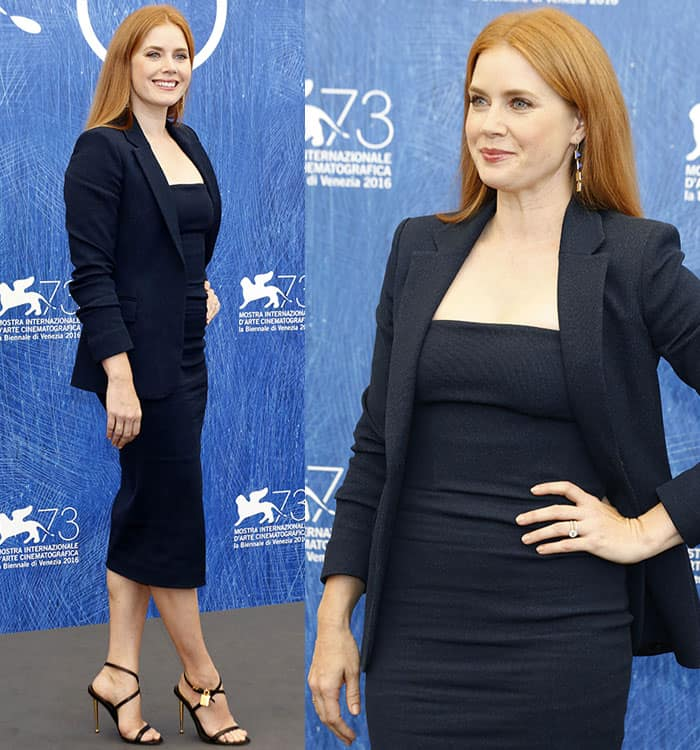 "Amy Adams at the ""Nocturnal Animals"" photocall during the 73rd Venice Film Festival in Venice, Italy on September 2, 2016"