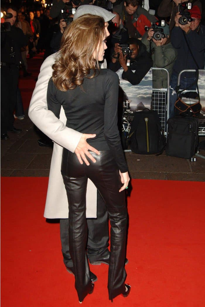 angelina jolies 21 best shoe moments with brad pitt