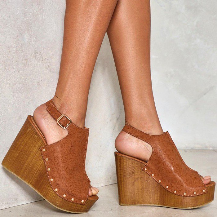 'As Luck Wood Have It' Studded Wedge