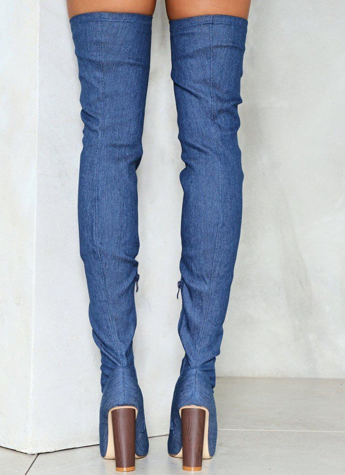 'Beyond Your Jeans' Over-the-Knee Boot