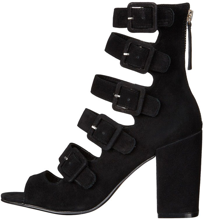 Chinese Laundry Twilight Black Suede Booties