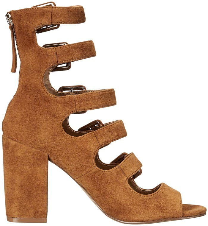 Chinese Laundry Twilight Camel Suede Booties