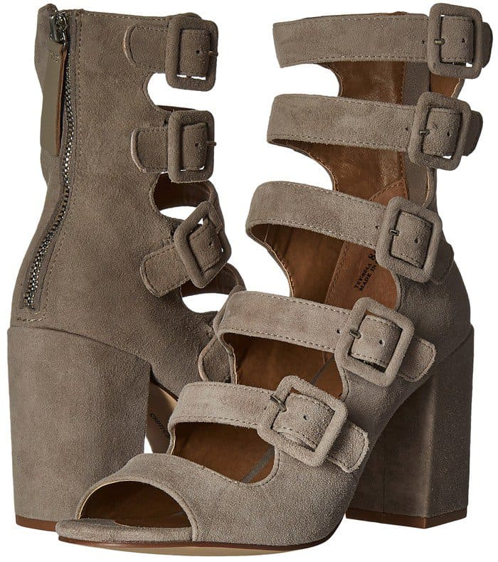 Chinese Laundry Twilight Cool Taupe Suede