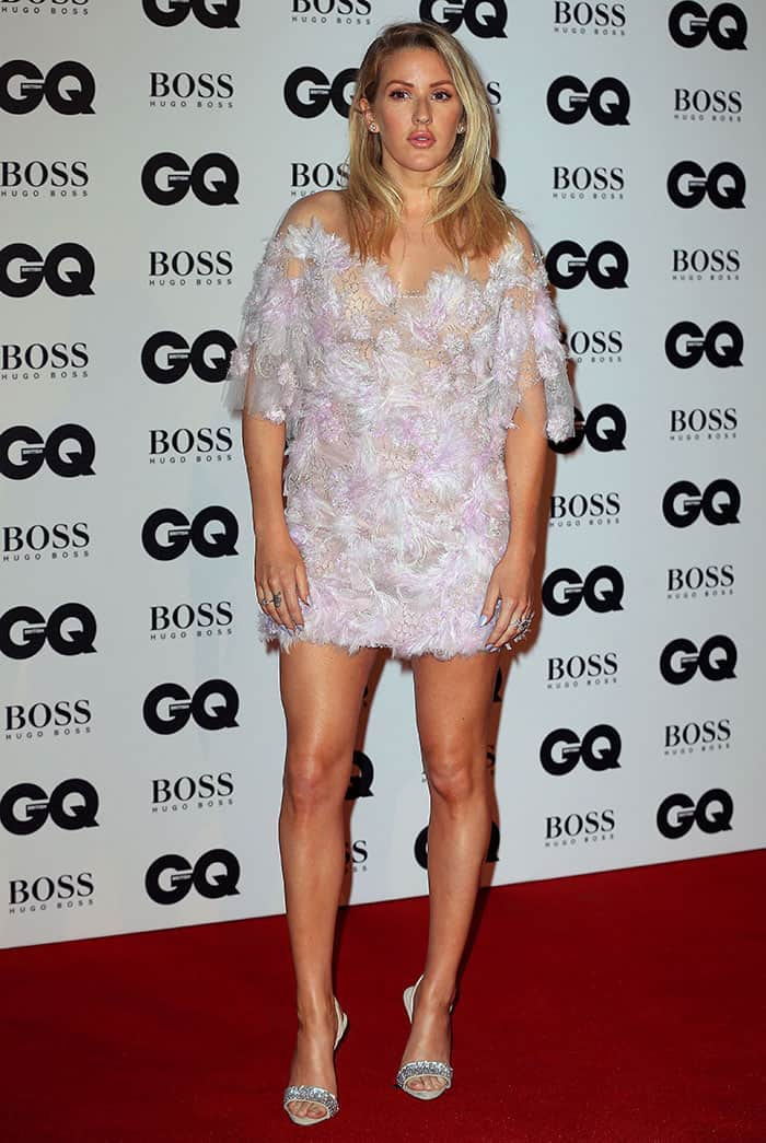 Ellie Goulding at the GQ Men of the Year Awards 2016