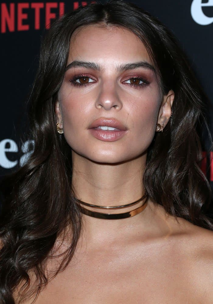 Emily Ratajkowski at the Netflix premiere of 'Easy' in West Hollywood on September 15, 2016