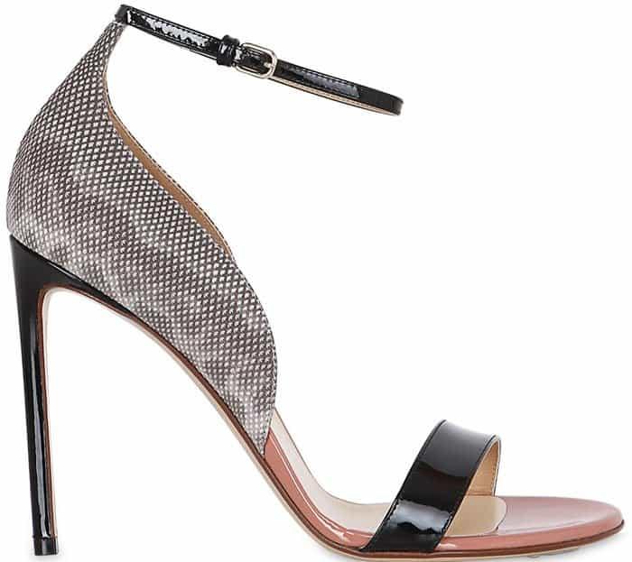 francesco-russo-sandals-black-snake-1