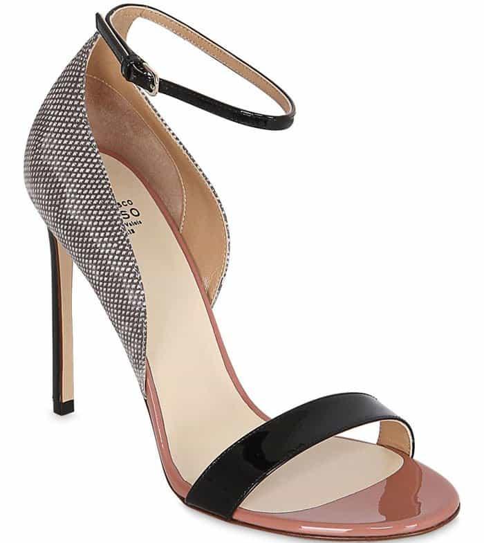 francesco-russo-sandals-black-snake-2