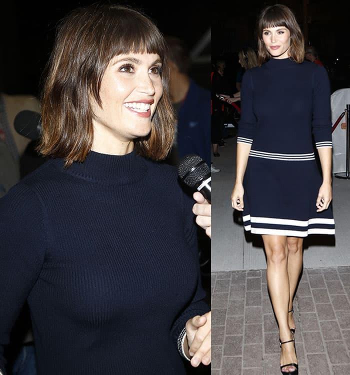 gemma-arterton-chinti-parker-blue-knit-dress