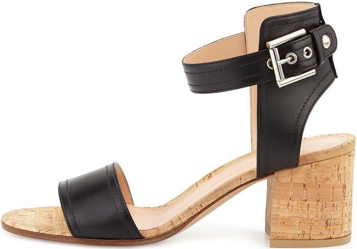 gianvito-rossi-leather-cork-sandal-black-2