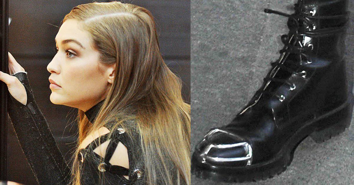 5010726801 Gigi Hadid Shops at Victoria s Secret in Alexander Wang  Lyndon  Boots