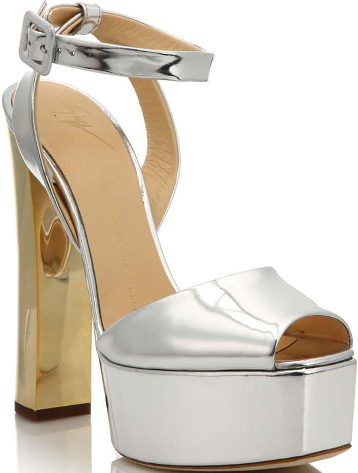 giuseppe-zanotti-silver-metallic-sandals-gold-heels
