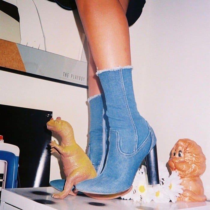 'High Time' Denim Boot