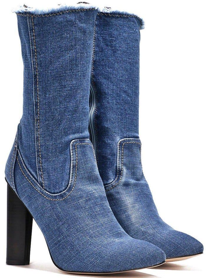 'High Time' Denim Boot