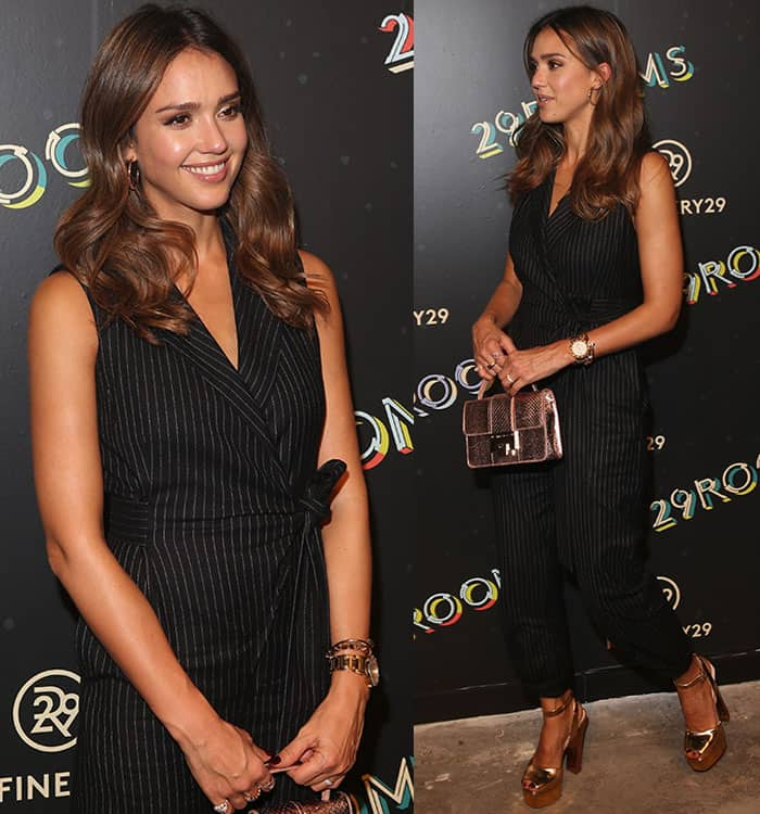 Jessica Alba at the 2nd Annual Refinery29 29Rooms: Powered By People in New York City on September 8, 2016