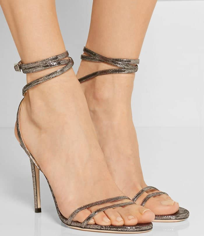 Jimmy Choo's 'Memento Tizzy' sandals are true to the iconic label's glamorous aesthetic