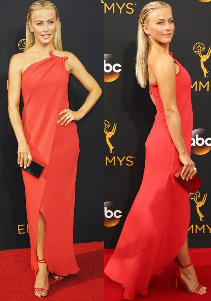 Julianne Hough at the 68th Emmy Awards held at the Microsoft Theatre