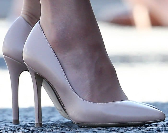 Kate Middleton in Luton shoes