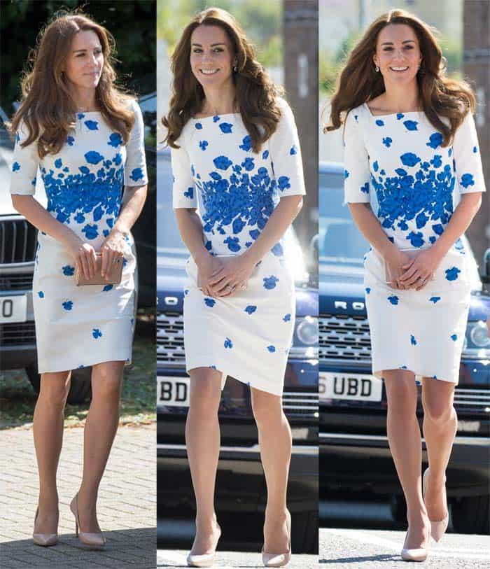 Kate Middleton in Luton5