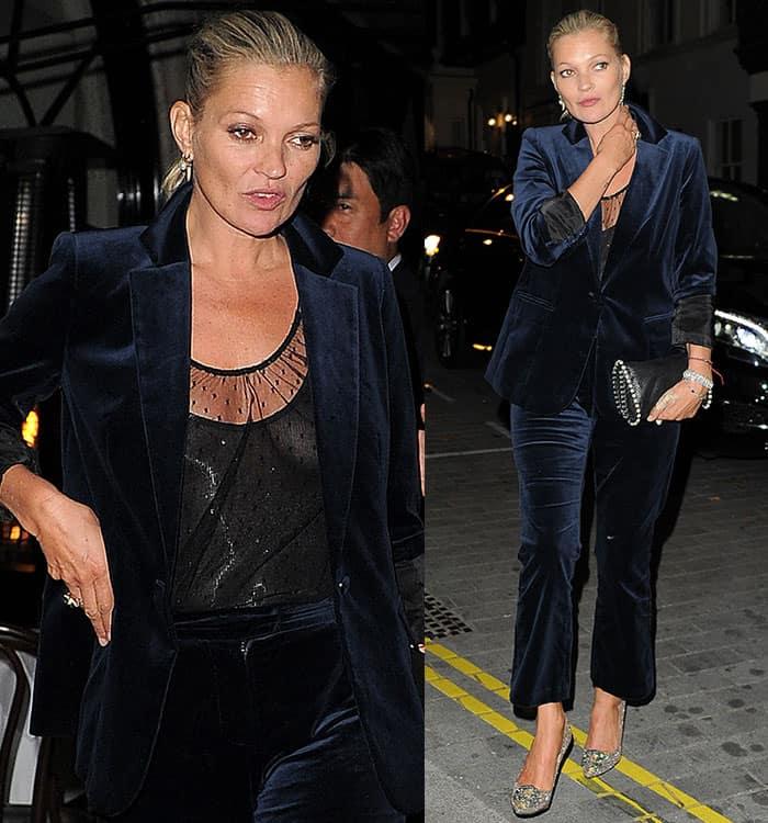 kate-moss-navy-velvet-blazer-trousers-sheer-top