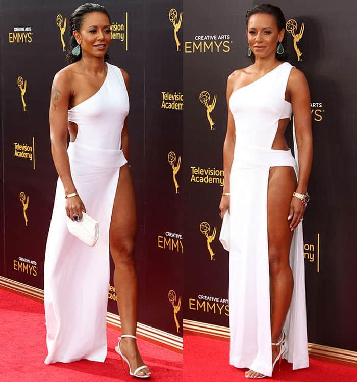 mel-b-legs-racy-white-cutout-dress