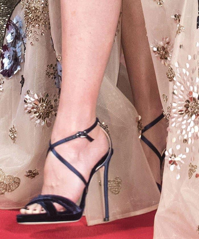 Naomi-Watts-Jimmy-Choo-Lola-velvet-satin-Sandals