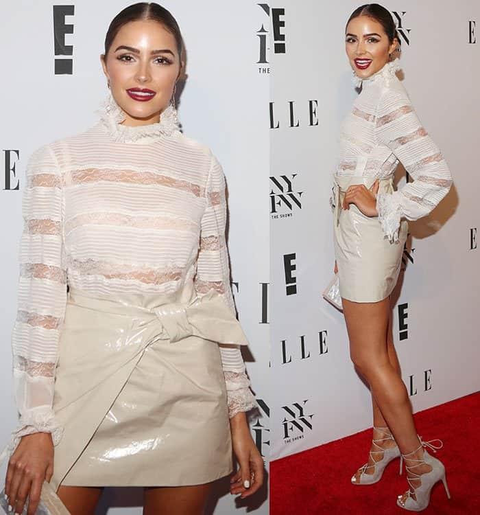 olivia-culpo-lace-turtleneck-top-wrap-mini-skirt